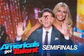 Mentalist And Magician Oz Pearlman - America's Got Talent 2015 Semi-Finals