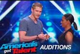 Michael John Does Magic at America's Got Talent 2015